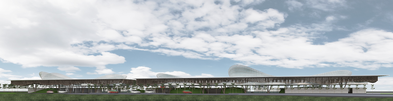 budipradono architects alor geataway airport competition