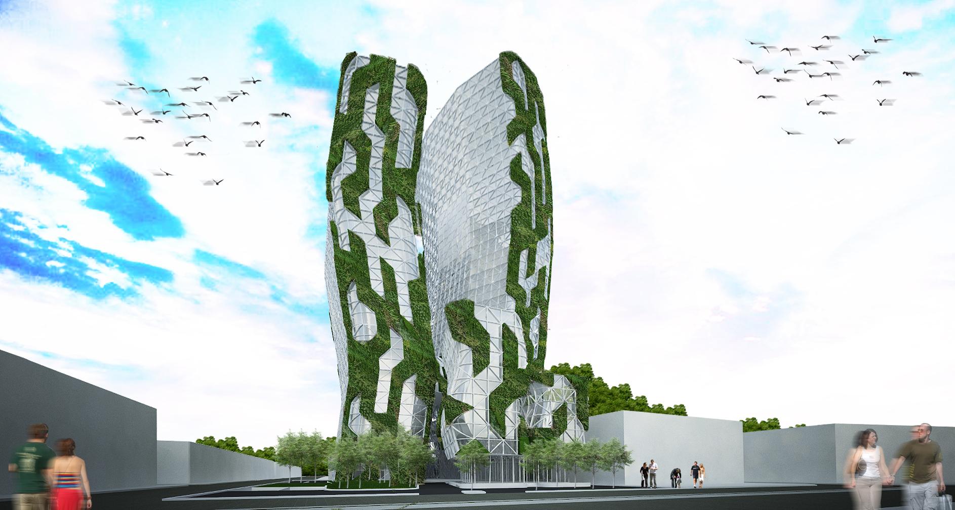 budipradono architects amartha apartment