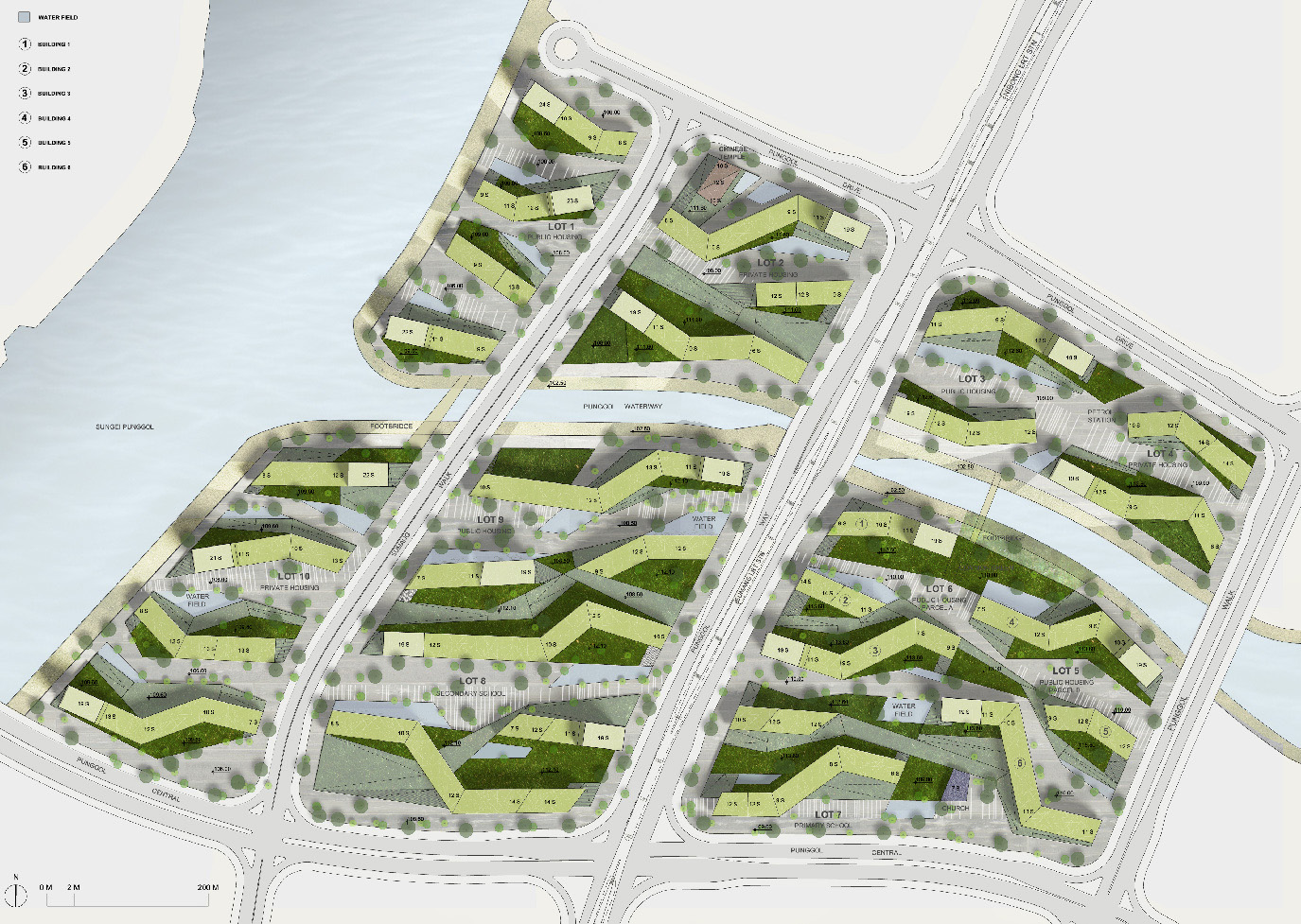 budipradono architects punggol waterfront